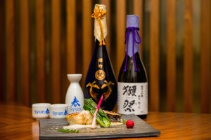 food with sake