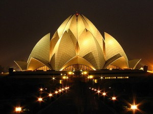 Lotus Temple, Kuil Unik Berbentuk Lotus di India