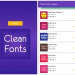Ubah Font Android Dengan Fonts Clean for FlipFont Free