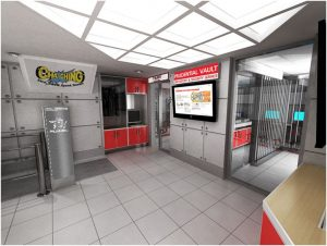 Vault, Depository, Security Service kidzania